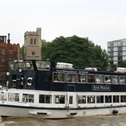 The River Princess from Thames Cruises