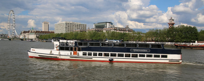 The Viscountess, one of the Thames Cruises fleet