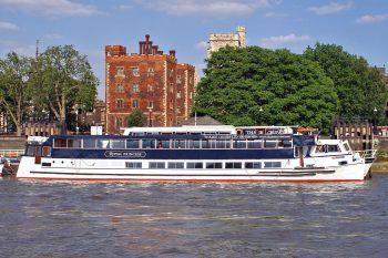 The Royal Princess, one of the Thames Cruises fleet