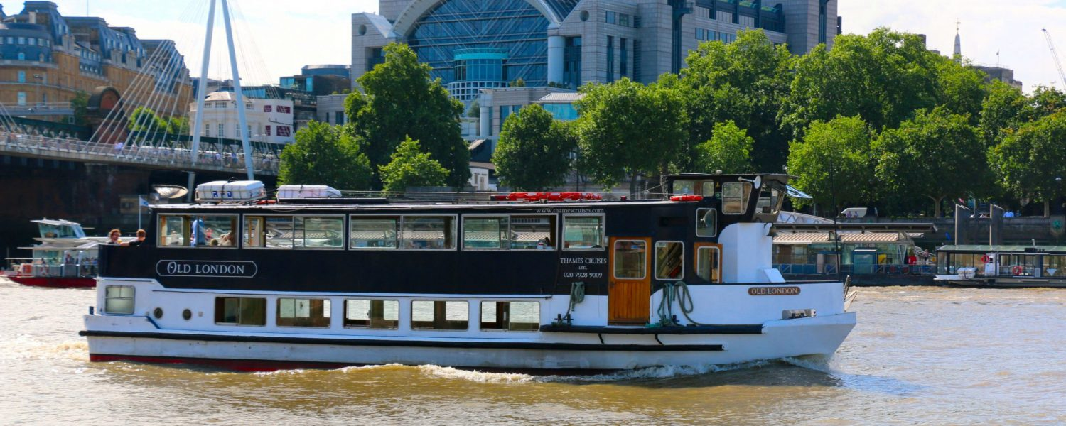 The Old London, one of the Thames Cruises fleet