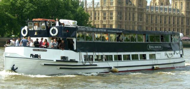 Royal Princess from Thames Cruises