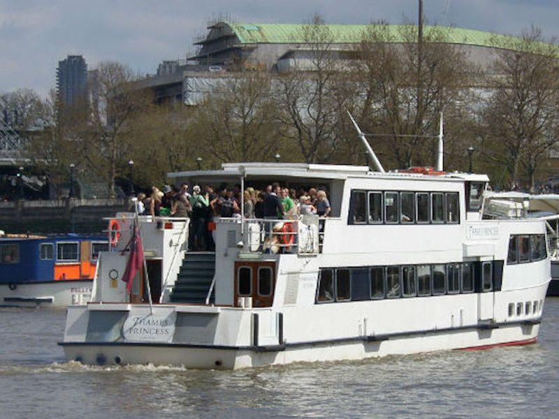 Thames Princess Aft Sundeck